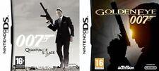 James Bond 007 QUANTUM OF SOLACE & GOLDENEYE 007 NUOVO e SIGILLATO