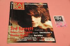 """RARO RIVISTA DISCOGRAFIA VALUTAZIONE LP 7"""" CD N° 140 SYD BARRETT ROKES + CARD"""