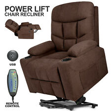 Camel Power Lift Massage Chair Full Automatic Electric Recline Heat Assist Stand