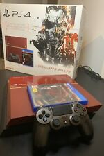 Rare Metal Gear Solid V PS4 Edition With Typo