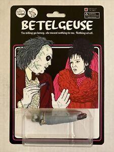 Beetlejuice Toy Art 4/40 Betelgeuse Super Secret Fun Club Lydia Ring Sdcc mondo