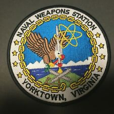 US NAVAL WEAPONS STATION YORKTOWN VIRGINIA PATCH