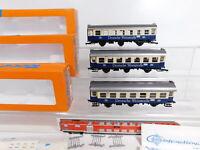 CS351-1 #3x Roco H0 / Dc 4214B Wagon de Voyageurs Allemand Weinstraße DB Nem,Box