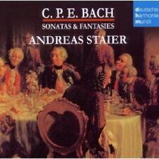 "ANDREAS STAIER ""SONATAS & FANTASIEN"" CD NEUWARE"