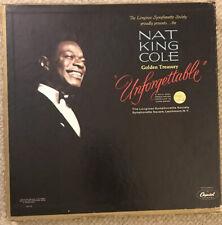 Nat King Cole Box Set Vinyl Records For Sale Ebay