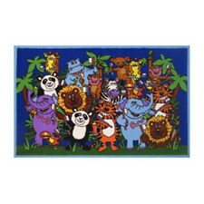 "Fun Rugs Fun Time-NEW Kids Home Decorative Area Rug Nylon Brushing Time -39""X58"""