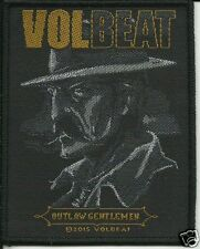 VOLBEAT outlaw gent  - WOVEN SEW ON PATCH - free shipping