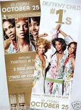 "Destiny'S Child ""#1's - Stand Up For Love"" 2-Sided U.S. Promo Poster / Banner"