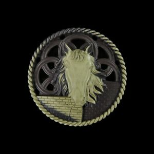 Carved Horse Through-Carve Bead HC403005