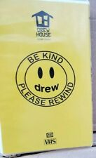 Drew House Vhs Cases Mascot Yellow Justin Bieber Lot Of 2