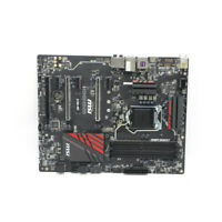 For MSI Z170A-S02 Motherboard LGA 1151 ATX M.2 DDR4+I/O Shield  95% New Tested