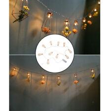 1,65 m 10 LED cadena luces Luz de hadas con pilas para café Bistro