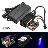 10W Laser Head Engraving Module Diode Marking Wood Cutting For Engraver