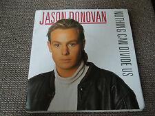 "Jason Donovan Nothing Can Divide Us RARE 7"" Poster Sleeve"