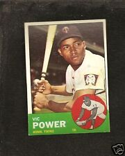 1963 Topps # 40 Vic Power Ex-Mt