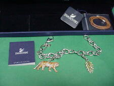 SWAROVSKI SCS BRACELET, TIGER, BNIB, RETIRED, SEVERAL IN STOCK, COA