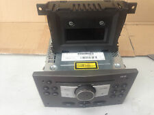 VAUXHALL ASTRA H 2004  RADIO CD PLAYER AND DISPLAY  CD30 BLAUPUNKT