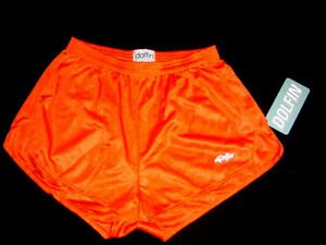 Dolfin Logo Shorts work out Hooters Girl Uniform Silky Running XL hot pants SEXY