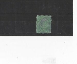 COLOMBIA , 1886, SG120 TYPE 42 1c GREEN, USED...