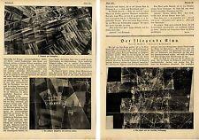 """Luftaufnahmen """"Das fliegende Kino"""" Bildreportage von 1918 *  WW1"""