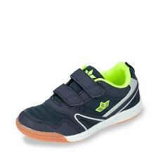 Lico Kinder Jungen Mädchen Sportschuhe Hallenschuhe Klett Sneaker Schuhe blau