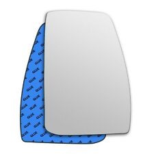 Right wing adhesive mirror glass for Ford Transit Custom 2012-2019 794RS