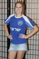 Israel ישר�ל soccer jersey - 15 - Blue - Youth Large