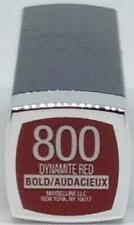 Maybelline Color Sensational Lipstick 800 Dynamite Red Bold/Audacieux