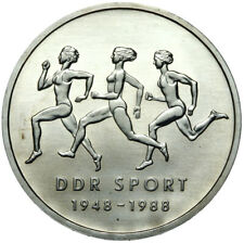 Gedenkmünze DDR - 10 Mark 1988 A Turn- und Sportbund der DDR - Stempelglanz UNC