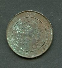 NETHERLANDS 1906  2 1/2  CENT COIN  AS SHOWN