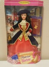 1997 Patriot Barbie Doll American Stories Series Collector Edition NRFB # 17312