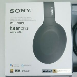 SONY WH-H910N h.ear on 3 Wireless Noise-Canceling Headphones Fast Same Day Ship