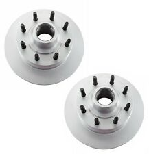 2-Meyle Brand Anti Rust Front Disc Brake Rotors Ford Van Econoline With ABS NEW