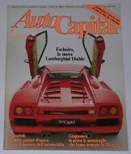 AUTOCAPITAL 2/1990 ALFA ROMEO 6C 2500 SS - FERRARI 250 GT - TRABANT 601