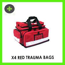 Trauma First Aid Bags x4 First Aid Paramedic Style Empty