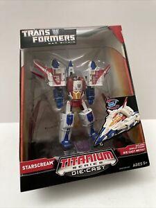 Transformers War Within Titanium Series Starscream Diecast Figure New