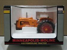 MINNEAPOLIS MOLINE 445 POWERLINE TRACTOR 2005 LOUISVILLE FARM SHOW NIB 1/16