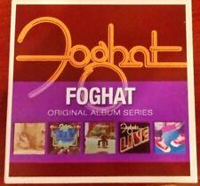 Foghat – Original Album Series - 5 CD Box Set - Excellent - 2009 - VG