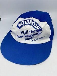 Vintage WOODROOFE Collectors Hat Cap Retro Soft Drink Lemonade Man Cave