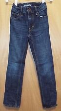 PSNY Unisex Blue Denim Straight Leg Jeans Size 8 Short With Adjustable Waist