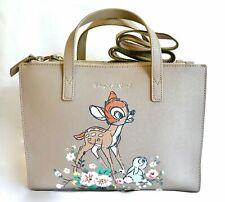 Cath Kidston Disney Bambi Grab Bag Double Zip Crossbody Handbag Thumper Tote