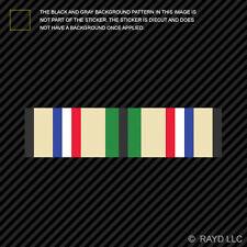 "(2x) 4"" Southwest Asia Service Persian Gulf War Service Ribbon Sticker desert"