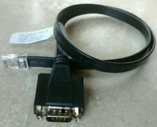 NCR 497-0465037 1432-C337-0007 RJ50 10-pin RS-232 to DB9 Serial Cable Adapter