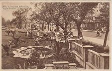 Pool, Lawns & Ballustrade, Royal Pavilion, BRIGHTON, Sussex
