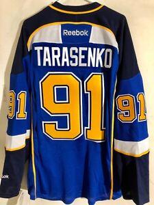 Reebok Premier NHL Jersey St. Louis Blues Vladimir Tarasenko Yelo LNS Blue sz 2X