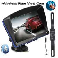 XGODY 7'' Capacitive GPS Navigator with Bluetooth Wireless Reverse Camera POI
