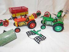 Vintage Pavok Nachod Argo Zetor Zin Tractor Lot