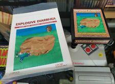 Atari 2600 7800 - EXPLOSIVE DIARRHEA w/ manual - homebrew hack - Tested/Works