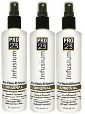 3 X INFUSIUM 23 ORIGINAL FORMULA Hair Spray Leave-in Treatment 8 oz Vitamin B5