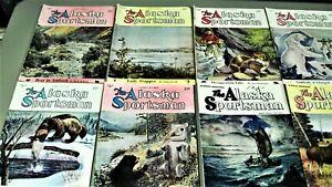 Vintage 50's The Alaska Sportsman-12 Book Lot